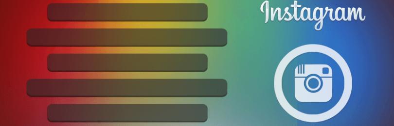 Простой способ выровнять текст по центру в Instagram
