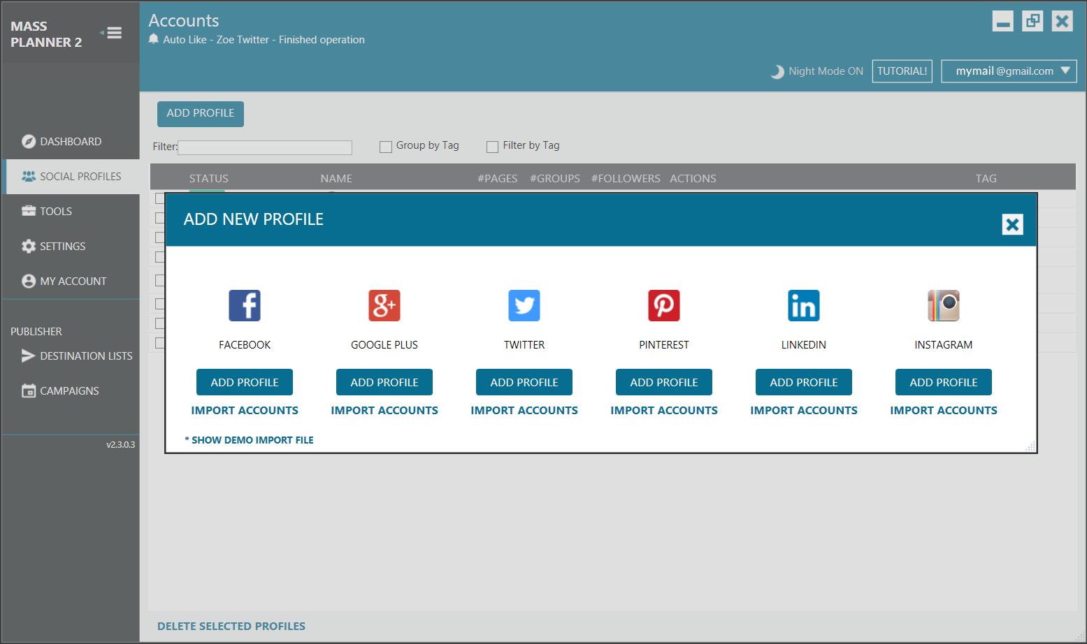 Mass Planner относительно недорогой сервис, позволяющий распланировать размещение постов в Инстаграм